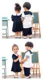 Uniforme scolastico 2016 dei bambini di alta qualità di promozione della molla dell'OEM