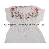 Blusa Casual Fashion Girl clásico con DOT Impresión