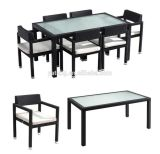 Low Price Waterproof Leisure Modern Chinese Garden Furniture Conjunto de mesa de jantar
