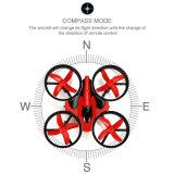 Rtf modelo da linha central RC de E010 mini Quadcopter 2.4G 4CH 6