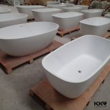Baignoire chaude extérieure solide moderne de finition de Kingkonree Matt