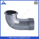 Ajustage de précision de pipe en laiton de coude Polished (YD-6031)