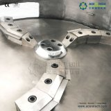 Hochleistungs- Wasser-Ring, der Plastikmaschine für EPS/EPE/PS/XPS schäumendes Material pelletisiert