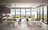 Estação de trabalho linear do escritório da mesa de 6 assentos da pessoa com pé do metal (HF-RSD028)