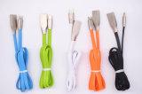 Câble de chargeur de synchro de caractéristiques de foudre pour le câble de remplissage du téléphone cellulaire USB d'iPhone/iPod/iPad