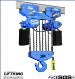 Liftking 20t que levanta constantemente el alzamiento de cadena eléctrico (ECH 20-08S)