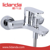 Brass contemporâneo Bathtub Faucet com Chrome Finsih