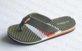 Тапочка горячих людей сбывания с подошвой ЕВА и планками PVC (RF16219)