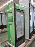 Вертикальный одиночный охладитель напитка двери самое лучшее разрешение промотирования тавра