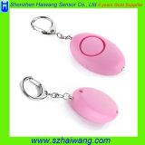 Alarma personal portable de la defensa de la protección de uno mismo de la alarma con la luz del LED