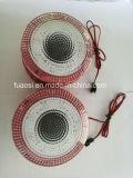 Sistema de alarme de áudio de áudio MP3 com alto-falante de forma de roda