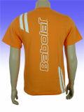 عالة قطر [ت] قميص مع طباعة لأنّ ترقية