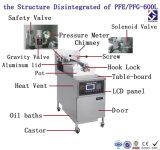 Fabricante chinês profundo da frigideira da galinha ereta livre quente do gás do anúncio publicitário do Sell (ISO do CE)