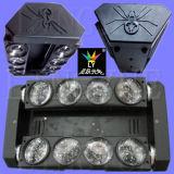 Iluminação movente do disco da cabeça 8X12W do diodo emissor de luz da aranha do DJ
