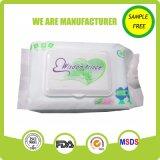 Trapos naturales de calidad superior del uso del bebé del cuidado de piel suavemente