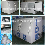 屋外の袋に入れられた氷のフリーザーはまたは冷たい壁の氷のマーチャンダイザー自動霜を取り除く