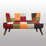 Wood Legs를 가진 Design 새로운 거실 Furniture Fabric Sofa