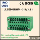 Conetor Pluggable do PWB dos blocos Ll2edgkrg-3.5/3.81 terminais