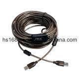 rallonge USB de vente chaude de 65FT pour des ordinateurs portatifs et des appareils mobiles