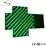 85*85 P12.5 Cruz De Farmacia LED Pharmacyの十字の表示印