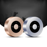 Runder Edelstahl mini drahtloser Bluetooth Lautsprecher