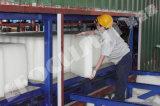 Containerisierte Block-Speiseeiszubereitung-Maschine, Block-Eis-Pflanze, Eis-Hersteller-Zeile