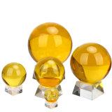 Шарик домашнего украшения изготовленный на заказ кристаллический стеклянный (KS2014003)