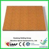 Certificados por la IAAF Aislamiento Eléctrico prefabricado de goma sintética de atletismo