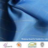 Jacquardwebstuhl-Pfirsich-Haut mit silberner Seide für Kleid