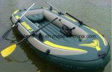 Canoë en plastique de pêche de kayak de PVC Tarps à vendre Tb074