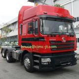 Camion de remorque de Shacman F3000 6X4 de continent