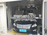 O polonês escova a máquina da lavagem de carro