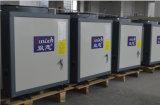 Runnig chez Amb. Chauffe-eau d'industrie de pompe à chaleur de reprise de chaleur résiduelle de source d'air de l'eau chaude R134A+R410A de la sortie 90deg c de -20c