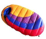 子供+500g &#160のための屋外に白いアヒルの寝袋; アヒル
