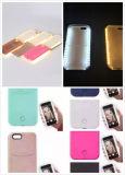 2016 горячий случай iPhone5/5s/6/6s/6s Plus/Se Lumee с штоком США случая СИД светлым Selfie