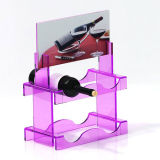 5mm Retail perpex Présentoir pour Wine Promotion Acrylique Display Box
