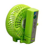 Ventilador portátil 3-Windspeed hoja plegable portátil Mini USB Chargable