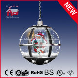 LED Lights를 가진 공 Shape Christmas Hanging Light Chandelier