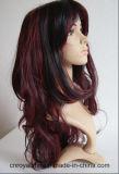 Parrucca femminile dello Synthetic di festival dei capelli del fumetto di modo