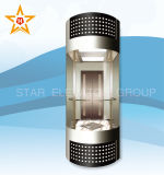 Панорамный стандарт лифта (типа полуокружности)