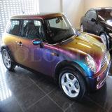Kleur die Pigment voor AutoVerf verplaatsen