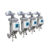 Filtragem automática da água de limpeza com sução e escova