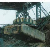 6.5ton를 위한 원형 산업 자석 기중기는 철을 골라낸다