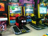 ビデオゲームが付いている子供のレースカーのアーケード・ゲーム機械