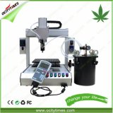 Machine de remplissage de bouteilles liquide de machine/pétrole de remplissage/machine de remplissage semi automatique de capsule