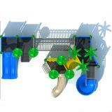 Скольжение напольных малышей оборудования спортивной площадки пластичное для общественного парка