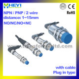 Cable를 가진 공기 Plug Inductive Proximity Sensor Switch 8/12/18/30mm Metal Sensor