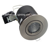 diodo emissor de luz BS476 Fire Rated Downlight de 5W GU10 para 90mins Ceiling Downlight