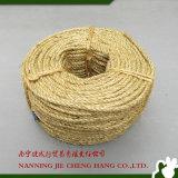 corda del sisal di 3ply 6mm per imballaggio