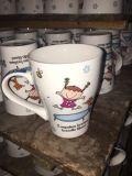Nueva taza promocional al por mayor de la porcelana de China de hueso